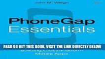 [Free Read] PhoneGap Essentials: Building Cross-Platform Mobile Apps Free Download