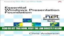 [Free Read] Essential Windows Presentation Foundation (WPF) (Microsoft Windows Development Series)