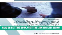 [Free Read] Workflow Management Concepts for Agile Long-Term Workflows: Enabling model changes on
