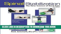 Best Seller Spinal Stabilization: The New Science of Back Pain, 2nd Edition (8596-2) Free Read
