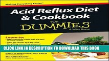 Best Seller Acid Reflux Diet and Cookbook For Dummies Free Read