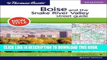 Read Now Boise and the Snake River Valley, Idaho (Rand McNally Thomas Guide) PDF Online