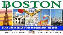 Read Now Boston Popout Map: Greater   Downtown Boston, Beacon Hill, Harvard Square, Subway (Popout