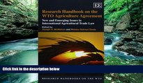 Big Deals  Research Handbook on the WTO Agriculture Agreement: New and Emerging Issues in