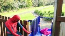 Spiderman Vs Spidergirl - Superhero Battle! w_ Hulk and Joker Superhero Time Adventures Episode 3_5!-r51UaC