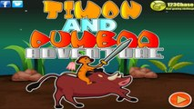 Timon and Pumba Adventure | timon and pumba adventure game the lion king games | Games For Kids