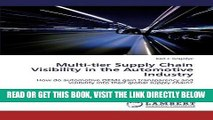 [FREE] EBOOK Multi-tier Supply Chain Visibility in the Automotive Industry: How do automotive OEMs
