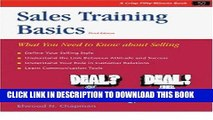 [PDF] Crisp: Sales Training Basics, Third Edition: What You Need to Know About Selling