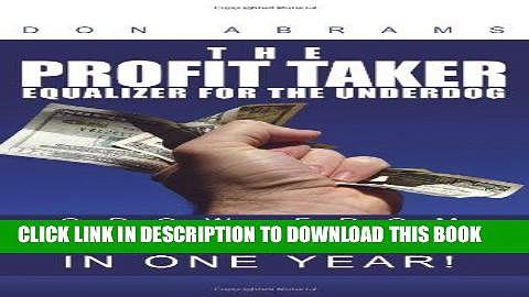 [PDF] The Profit Taker Popular Online
