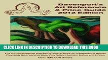 Best Seller 2012 Davenport s Art Reference   Price Guide (Davenport s Art Reference and Price