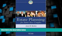 Must Have PDF  Estate Planning for Same-Sex Couples  Full Read Most Wanted