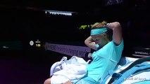 Tennis Player Svetlana Kuznetsova Chops Off Her Hair During WTA Finals