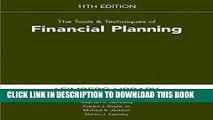 [Ebook] Tools   Techniques of Financial Planning 11th edition (Tools and Techniques of Financial