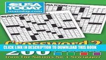 Read Now USA TODAY Crossword 2: 200 Puzzles from The Nations No. 1 Newspaper (USA Today Puzzles)