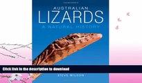 FAVORITE BOOK  Australian Lizards: A Natural History FULL ONLINE