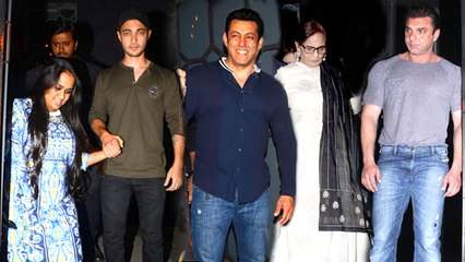 Salman Khan's Family At Sister Arpita's Husband's Birthday Party 2016 Full Video HD