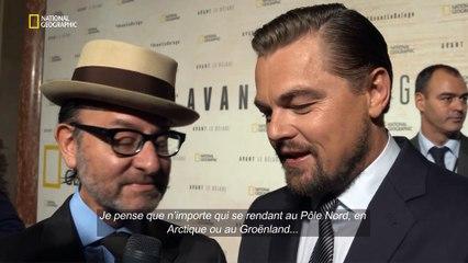 Avant le déluge - Interview Léonardo Di Caprio et Fisher Stevens