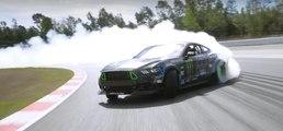 VÍDEO: Vaughn Gittin Jr. la lía con su Ford Mustang en Montmeló