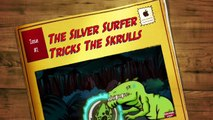 The Silver Surfer Tricks The Skrulls (The Silver Surfer TAS)-MdXi2m0LDGs