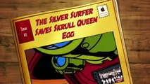The Silver Surfer Saves Skrull Queen Egg (The Silver Surfer TAS)-yG1QCMEYBXw