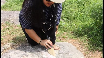 Inde: « Une princesse des dinosaures » protège des fossiles rares