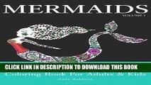 Ebook Mermaids: Coloring Book for Adults   Kids (Mermaid Coloring Book Series) (Volume 1) Free Read