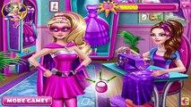 Super Barbie Design Rivals - Games For Girls