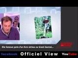 Malaise à la TV - La fausse bagarre de Elie Semoun au Grand Journal de Canal+