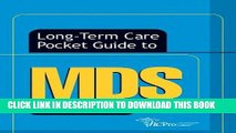 [FREE] EBOOK Long-Term Care Pocket Guide to MDS, Second Edition (Long-Term Care Pocket Guides)