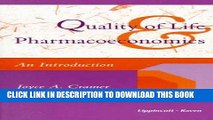 Ebook Quality of Life   Pharmacoeconomics: An Introduction Free Download