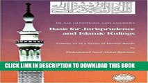 Ebook Islam: Questions And Answers - Basis for Jurisprudence and Islamic Rulings Free Read