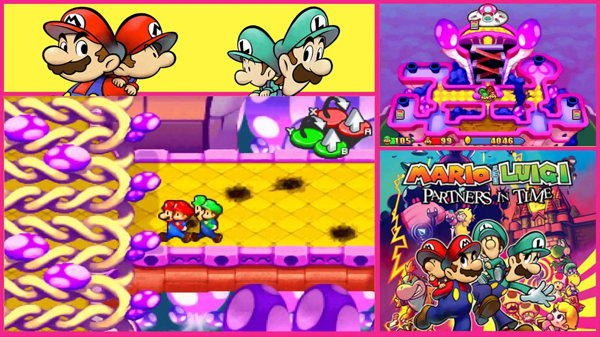 Mario Luigi Partners In Time Gameplay Walkthrough