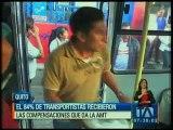 El 84% de transportistas recibieron las compensaciones que da la AMT