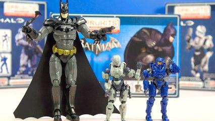 Halo y Batman se unen en su misión interestelar