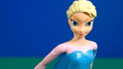 Elsa patina y canta   Juguete Unboxing