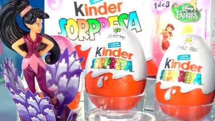 Huevos Kinder Sorpresa   Disney Fairies (Hadas Disney)