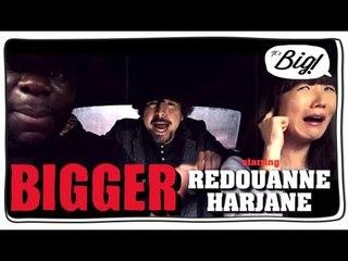 Redouanne Harjane en covoiturage dans Bigger