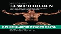 [Free Read] Das komplette Trainings-Workout-Programm zur Forderung der Starke im Gewichtheben: