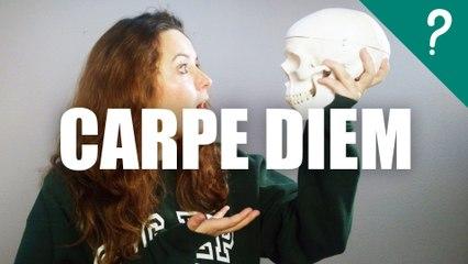 Qué significa Carpe diem