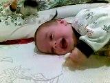 Bebe Con Ataque De Risa! (Contagioso!) ★ bebes divertidos   risa bebe   bebes chistosos   bebe humor