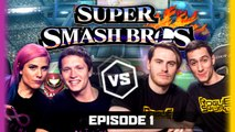 Ep 1 | SUPER SMASH BROS U | TmarTn The Zombi Unicorn vs Terroriser MCSportzHawk | LoG Season 2