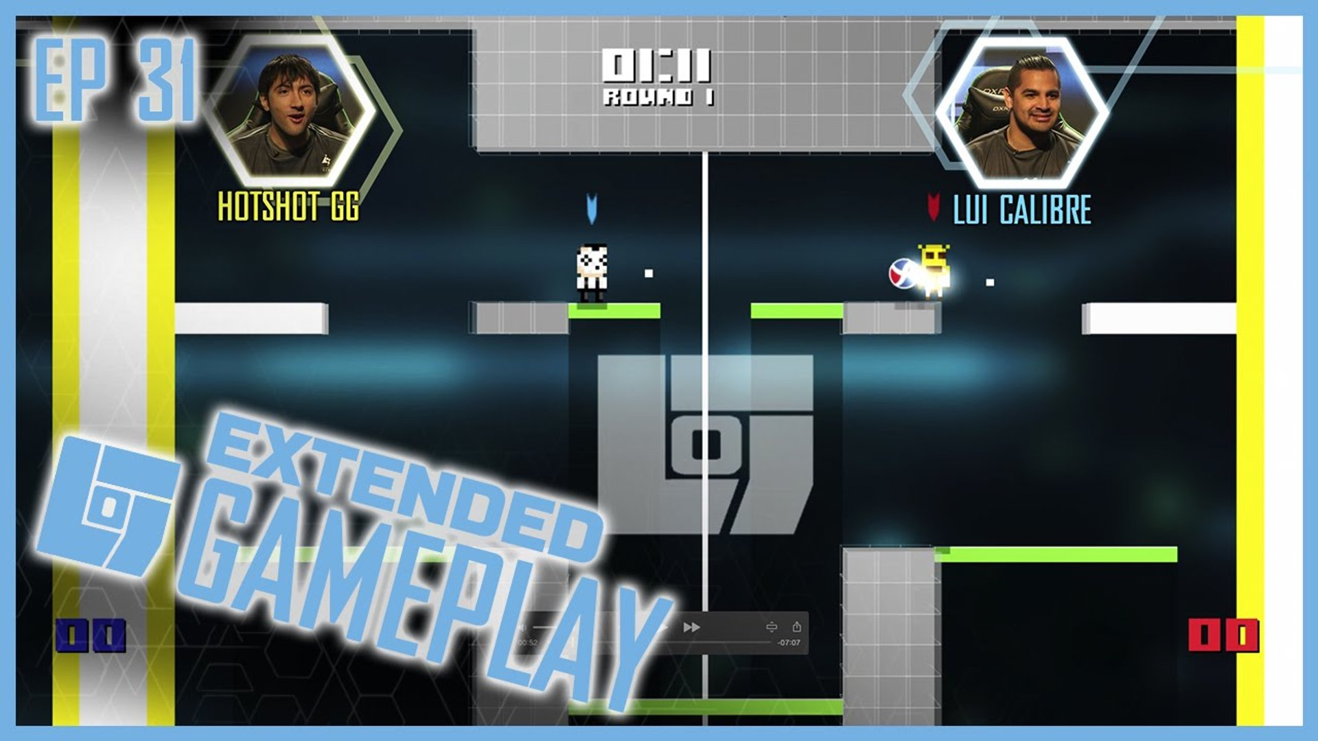 EP 31 Full Gameplay  |  #iDARB | Lui Calibre vs Hotshot GG