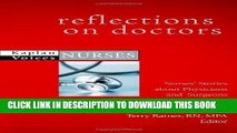 [FREE] EBOOK Reflections on Doctors: Nurses  Stories about Physicians and Surgeons (Kaplan Voices)