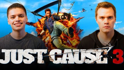 Let's Play JUST CAUSE 3 with RickyFTW and ArodGamez  | Smasher Let's Play