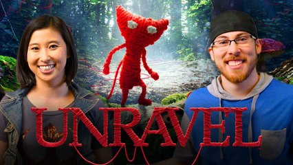 Let's Play UNRAVEL with Erika Ishii and JoblessGarrett | Smasher Let's Play