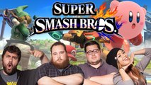 Let's Play SMASH BROS WII U with The Completionist, MissesMae, BigMacNation, EatMyDiction