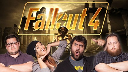 Let's Play FALLOUT 4 with BigMacNation, EatMyDiction, The Completionist, and MissesMae