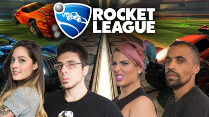 Let's Play Rocket League with TheZombiUnicorn, RecklessTortuga, ChilledChaos, and 2MGoverCsquared2