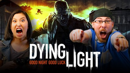 Let's Play DYING LIGHT: THE FOLLOWING with JoblessGarrett and Erika Ishii | Smasher Let's Play