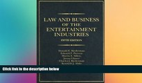Full [PDF]  Law and Business of the Entertainment Industries, 5th Edition (Law   Business of the